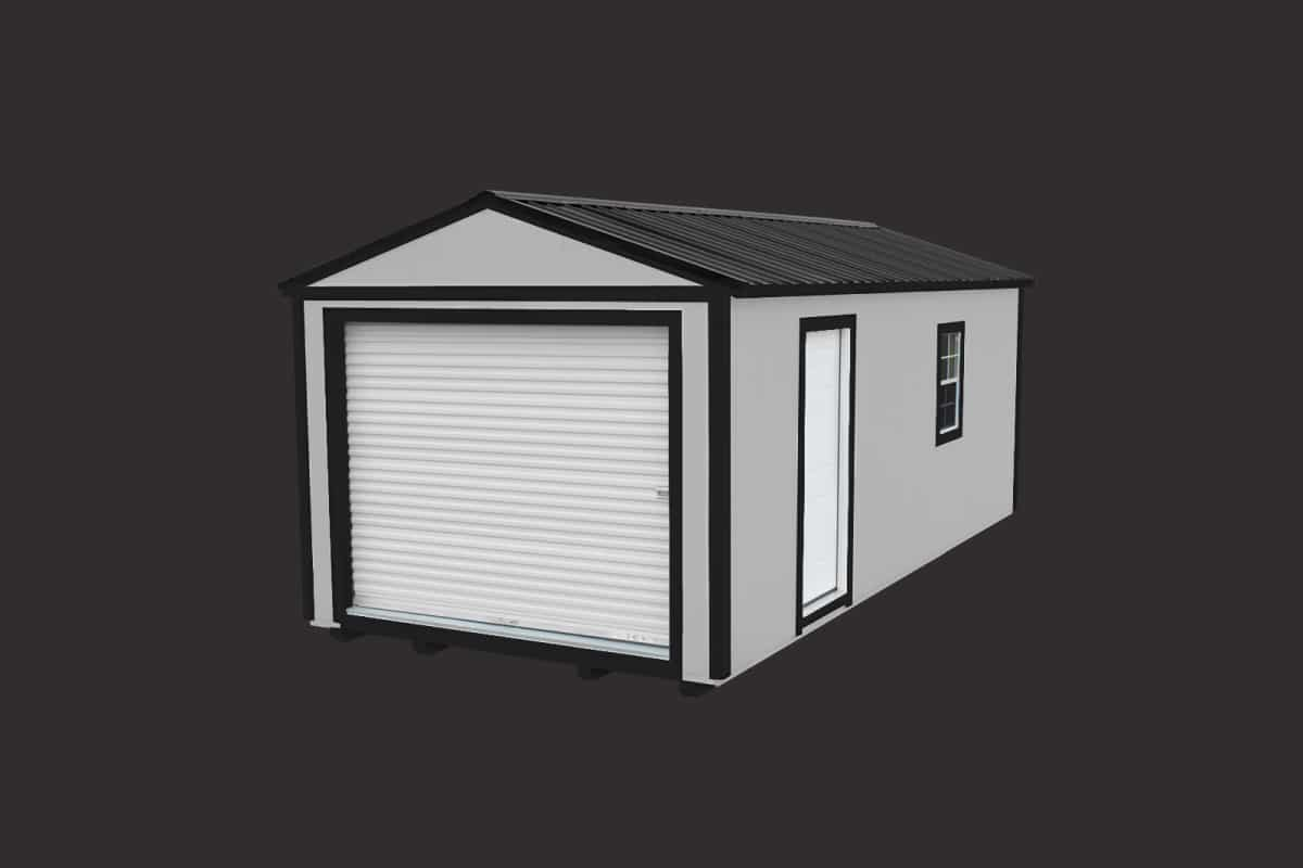 Home ez portable buildings for Design your own metal building home