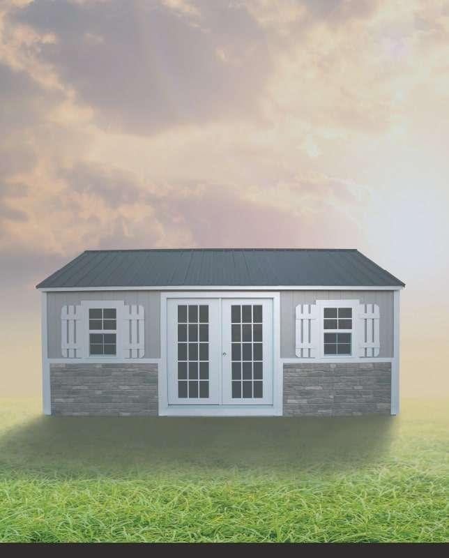ezpb-cottage-shed | EZ Portable Buildings