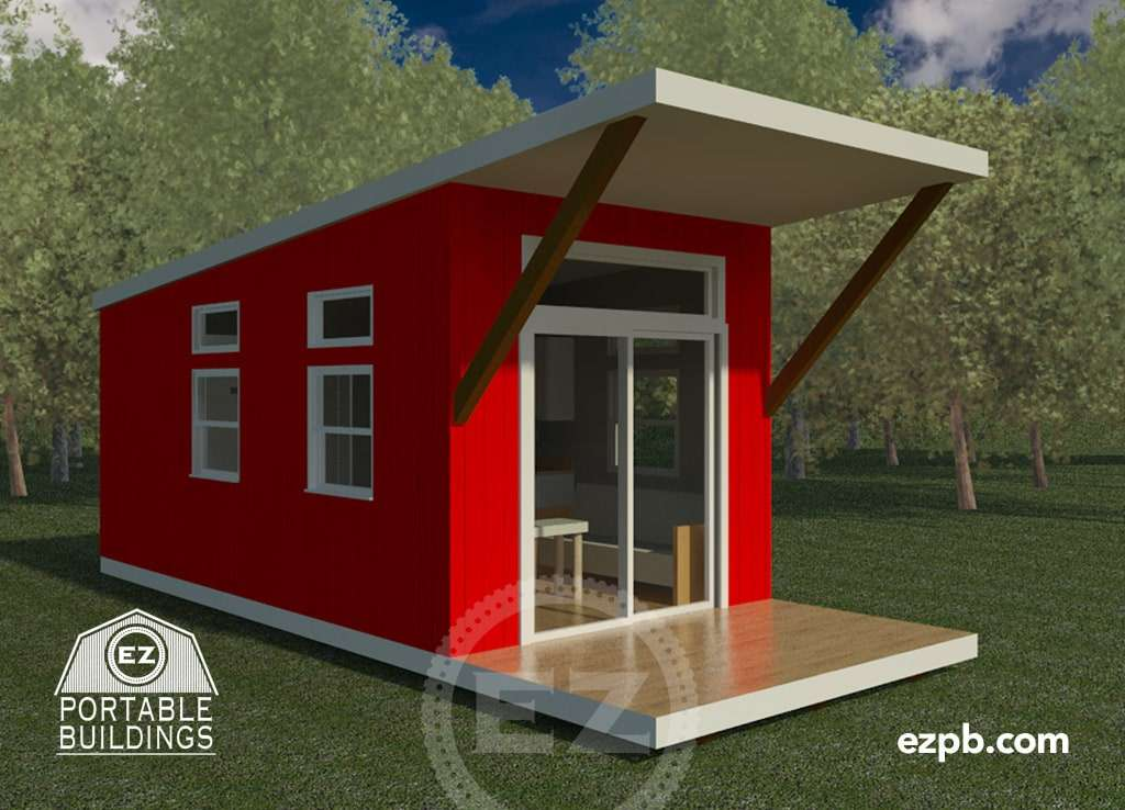 The Austin Studio Ez Portable Buildings