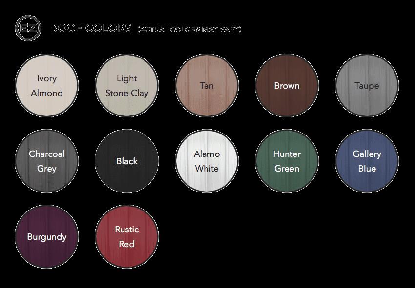 EZ Roof Colors