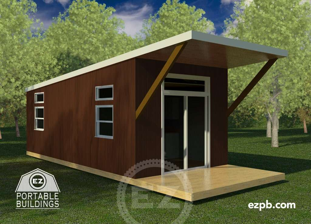 The Bayview Ez Portable Buildings