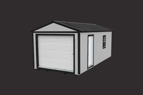 EZ Portable Buildings | Garage | Portable Garage