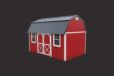 EZ Portable Buildings | Barn | Side Lofted Barn